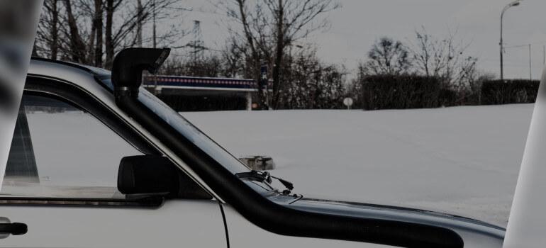 Со шноркелем на УАЗе — хоть на край света!