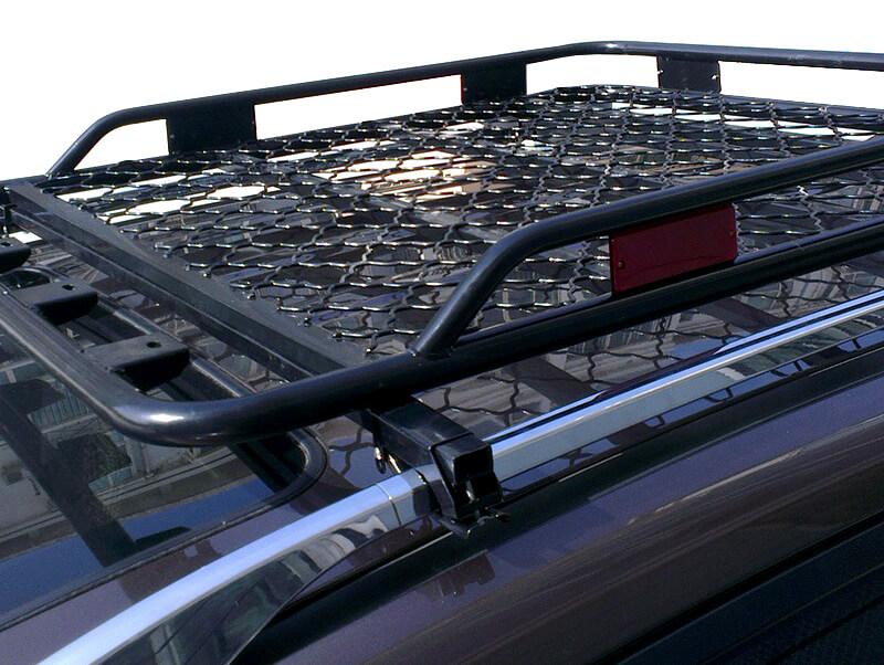 правильная установка багажника на крыше