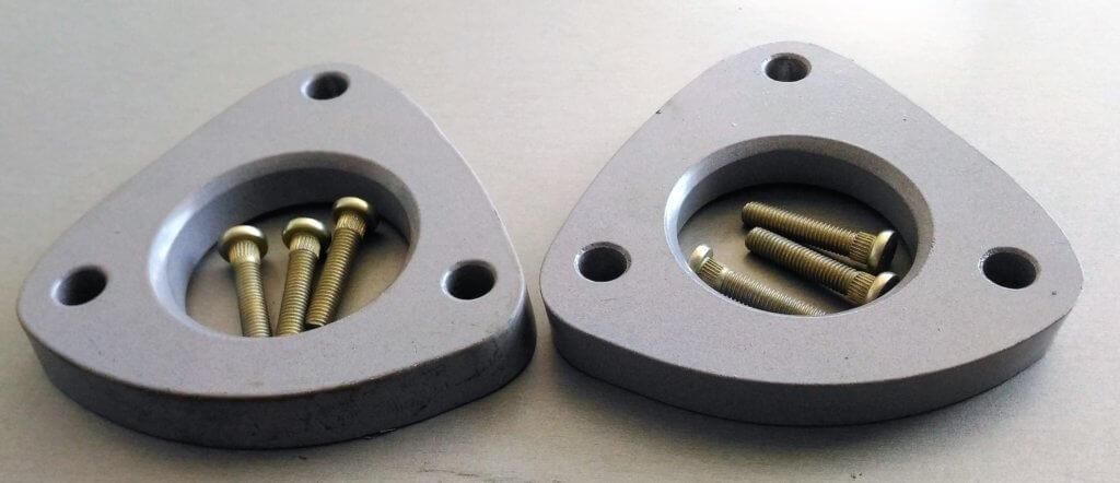 алюминиевые проставки на пружины