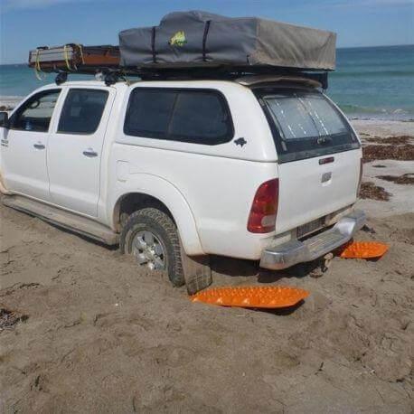 использование сэнд трака на песке