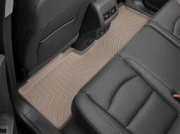Килимки резинові WeatherTech для Jeep Wrangler JK 2014+ задні бежеві 455733