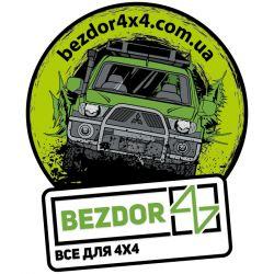 Наклейка с логотипом для Mitsubishi L200