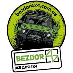 Наклейка с логотипом для Lada Niva 2121