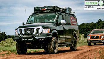 Nissan NV превратился в офф - роуд гиганта: новые модификации