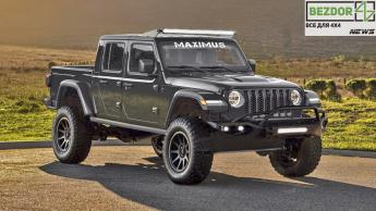 2020 Jeep Gladiator: большие габариты и 1000 лошадиных сил