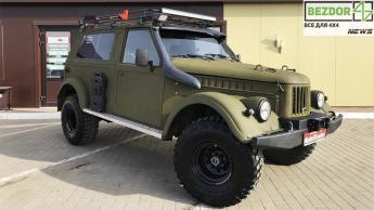 Известный Nissan Patrol скрестили с советским ГАЗ-69