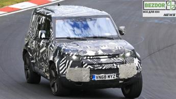 Land Rover Defender прошел финальные испытания перед выпуском