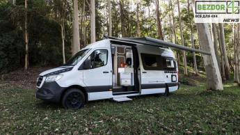 Mercedes-Benz превратили в полноприводный дом на колесах