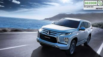 Новинка Mitsubishi Pajero Sport скоро появится в продаже