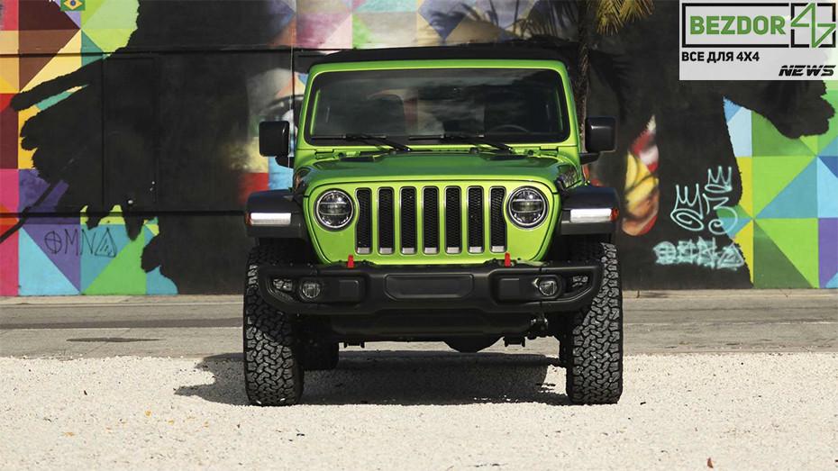 Теперь безопаснее: Jeep исправят «смертельное колебание» у Wrangler