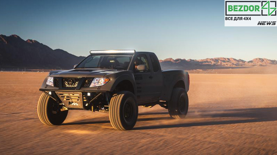 Nissan Titan готовится покорять пустыни