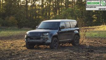 Land Rover Defender сняли в фильме о Джеймсе Бонде