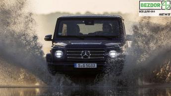 Внедорожник G-Class станет последней моделью Mercedes-Benz